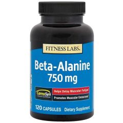 Piping Rock Beta-Alanine 120 Capsules 750mg