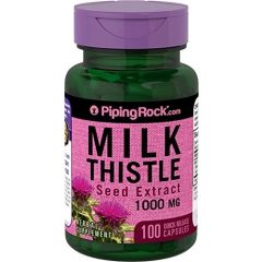Piping Rock® Milk Thistle Seed Extract