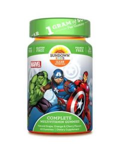 Sundown Kids Multi-Vitamin Gummies (Marvel)