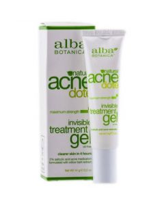 "Alba Botanica ""Acne Dote"" Oil-Free Invisible Treatment Gel - 0.5 oz (14 g)"