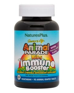 NaturesPlus Animal Parade Kids Immune Booster x 90 Veggie Chewables