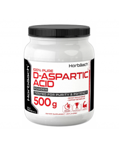 Piping Rock D-Aspartic Acid Powder 500gm