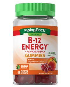 Nature's Truth B-12 Energy Gummies with Ashwagandha