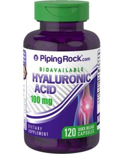 Piping Rock® Hyaluronic Acid 100mg 120 Capsules