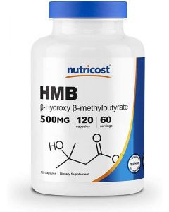 HMB (hydroxymethylbutyrate) prevents muscle loss 120 capsules 500mg each