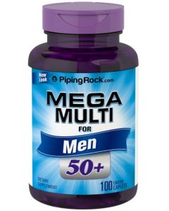 Mega Multi for Men 50+