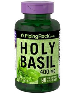 Piping Rock Holy Basil (Tulsi) 1600mg 90 Capsules
