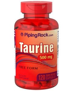 Piping Rock Taurine 500mg 120 Capsules
