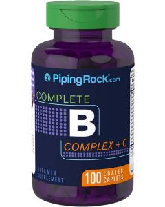 Piping Rock Vitamin B Complex with C