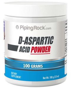 Piping Rock D-Aspartic Acid Powder 100gm