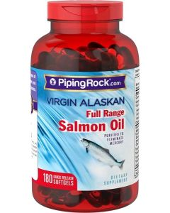 Piping Rock® Virgin Alaska Salmon Oil