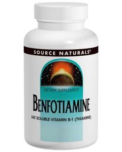 Benfotiamine (High Absorption form of Vitamin B-1) 60 Veggie Capsules 150 mg