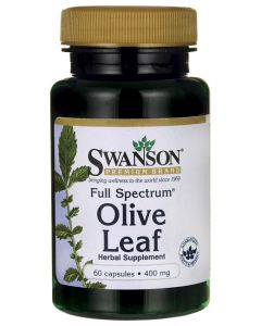 Swanson Full Spectrum Olive Leaf 400 mg