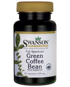 Swanson Full Spectrum Green Coffee Bean 400 mg
